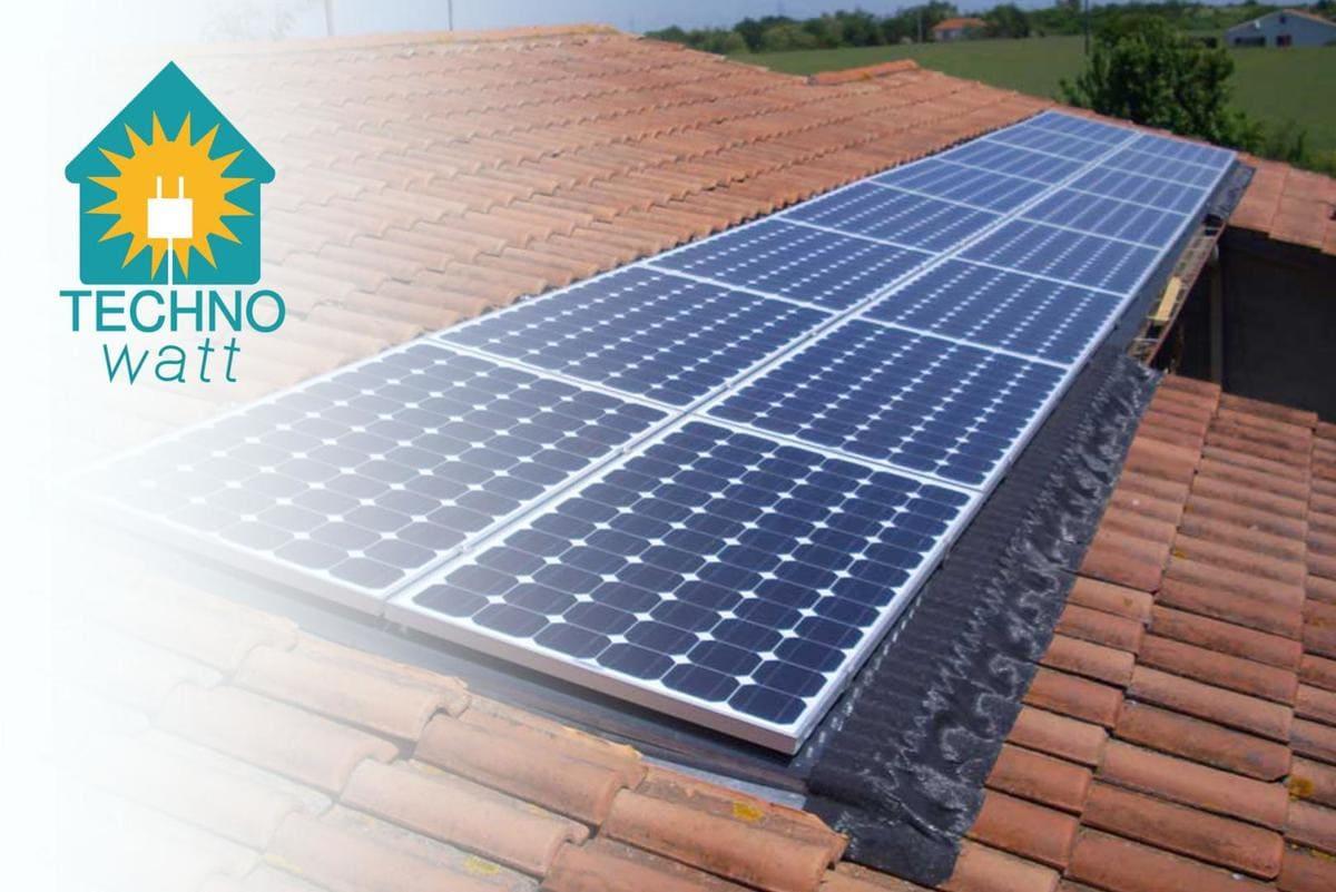 Installation solaire Technowatt