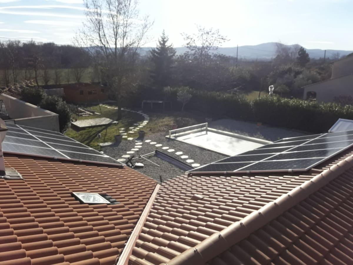Installation solaire Termik