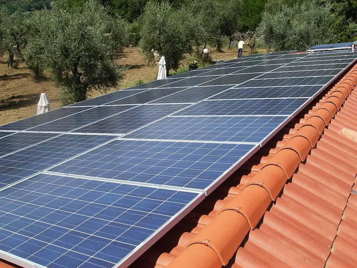 Sotranasa Televideocom installation solaire