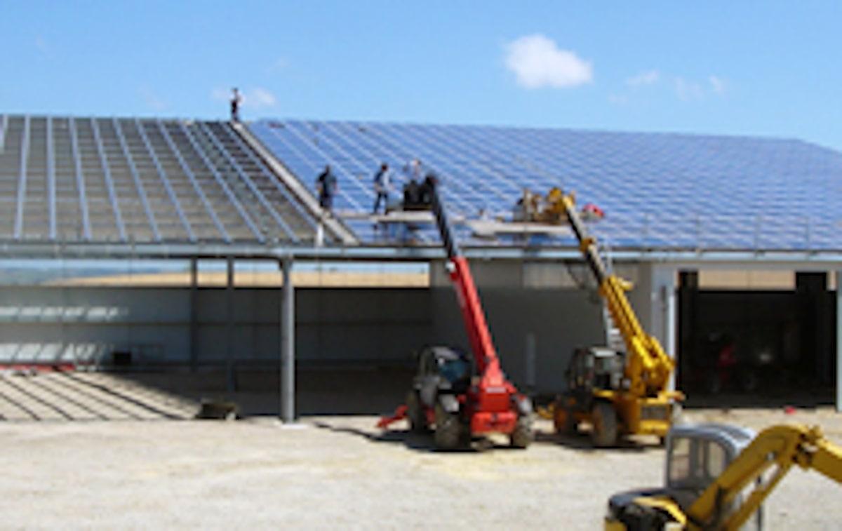Installations panneaux solaire