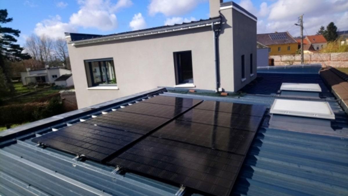 Isotoit installation solaire sur toit