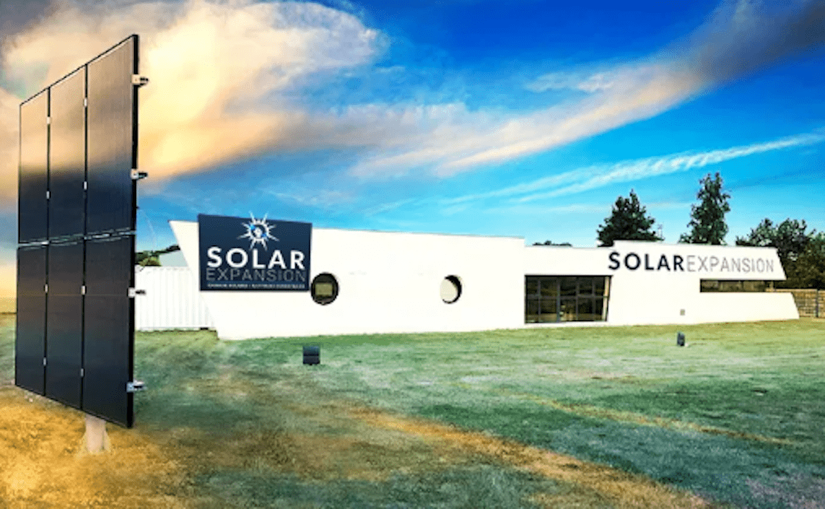 Les locaux SOLAR EXPANSION