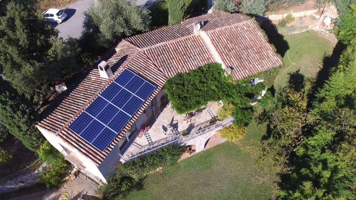 Maison photovoltaïque ICA3E