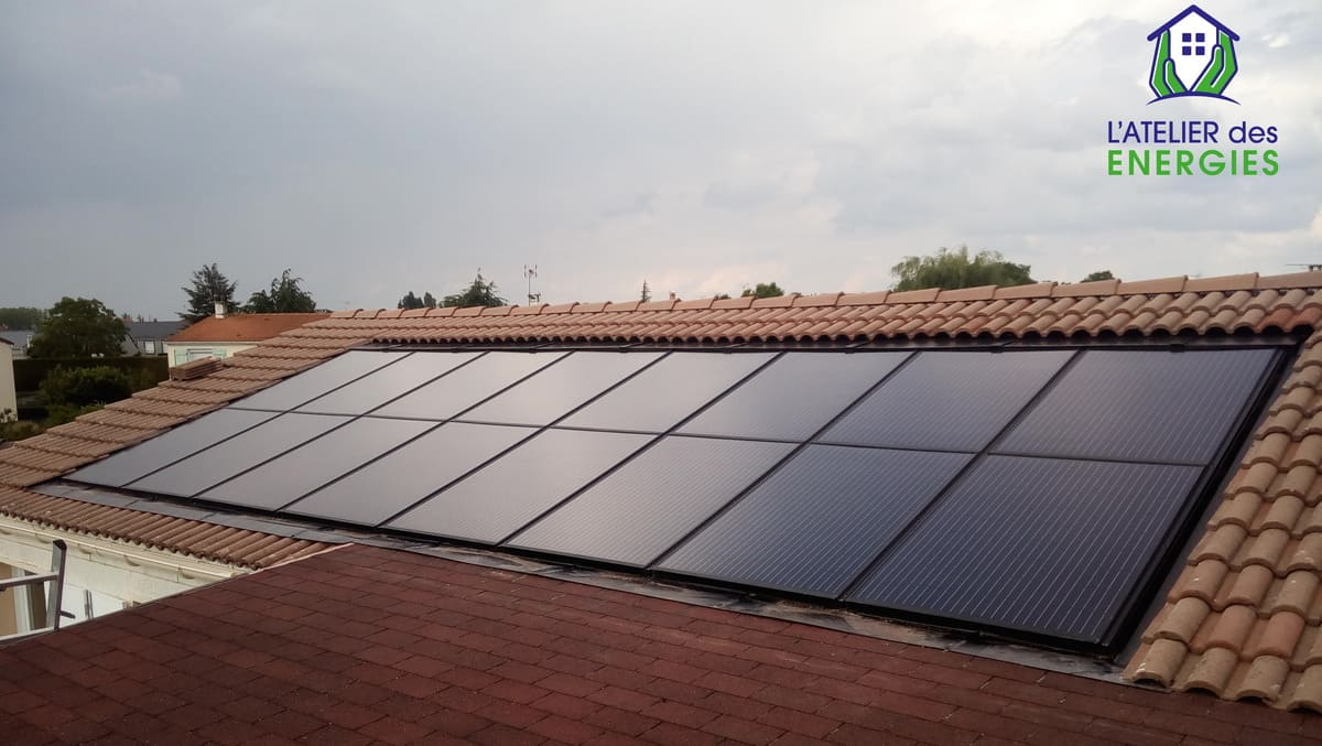 Panneau solaire L'Atelier des énergies