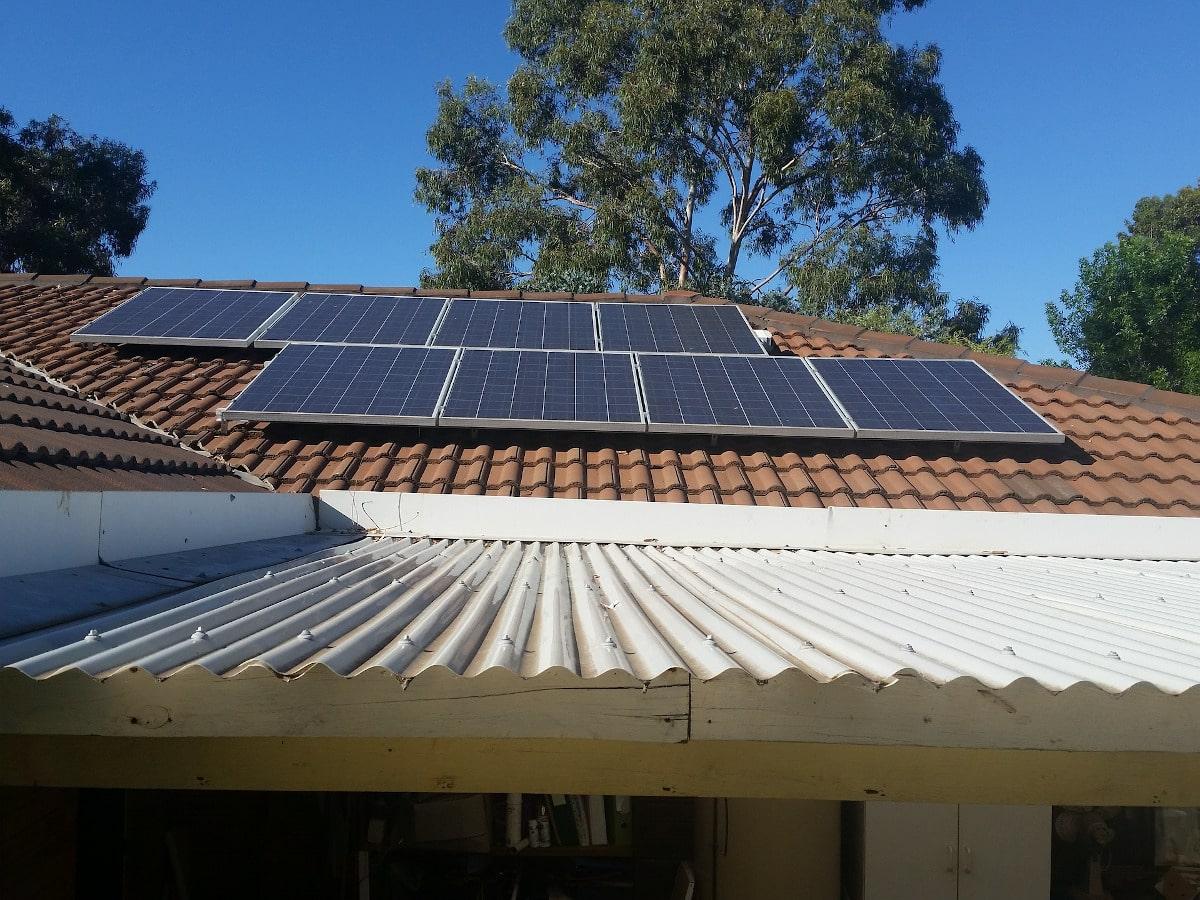 Installation panneaux solaire Baten