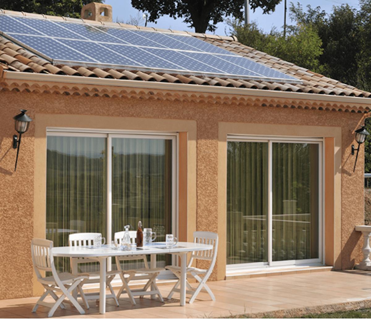 Panneau solaire Eco System Habitat