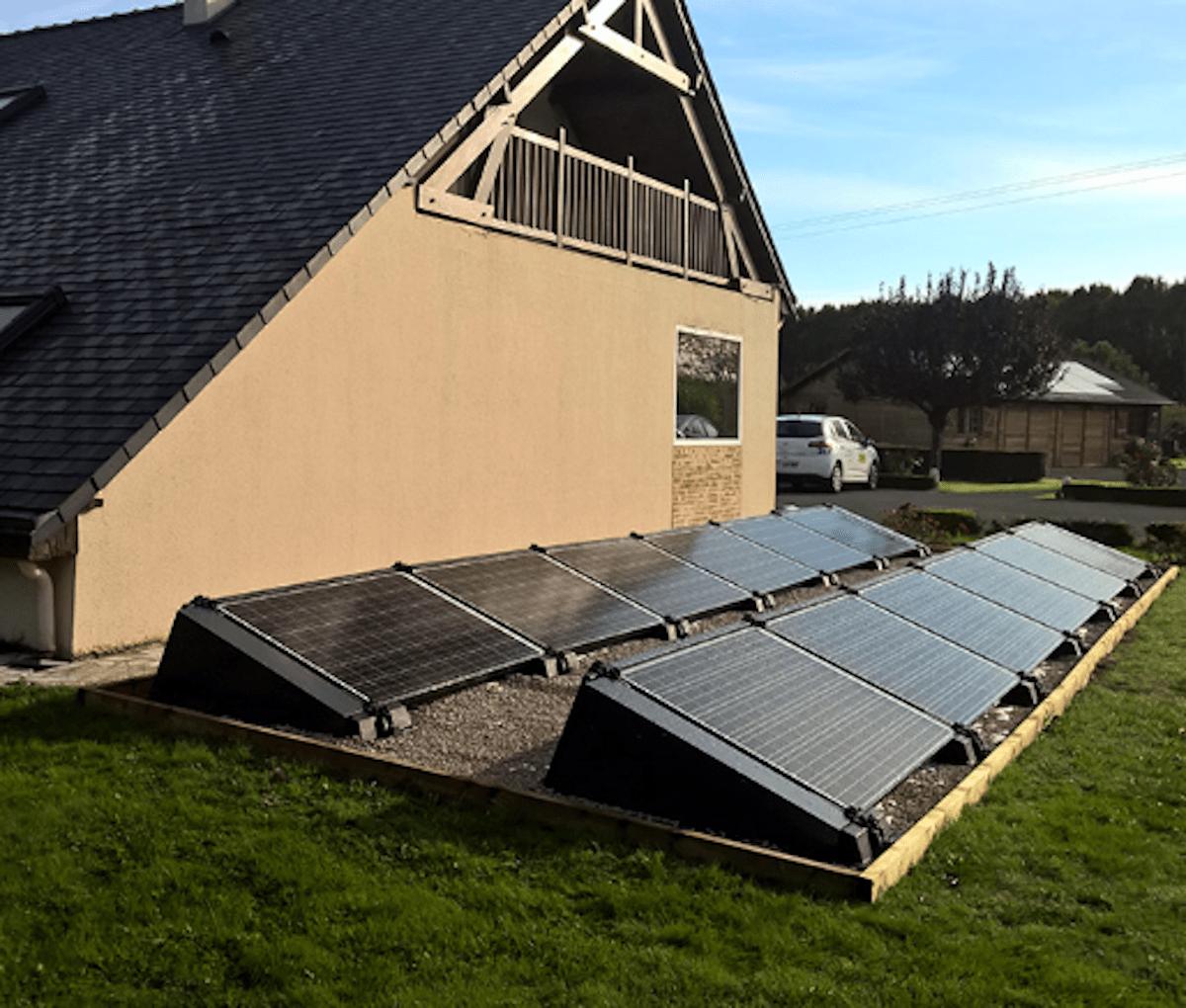 Installations panneaux solaire Eco System Habitat