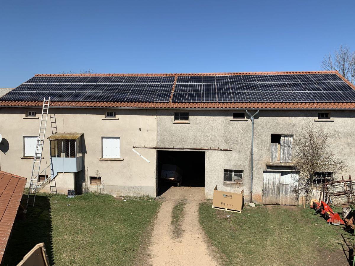 panneau solaire photovoltaïque Ecosun Technology