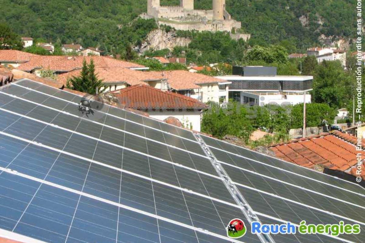 installation panneaux solaires rouch énergies
