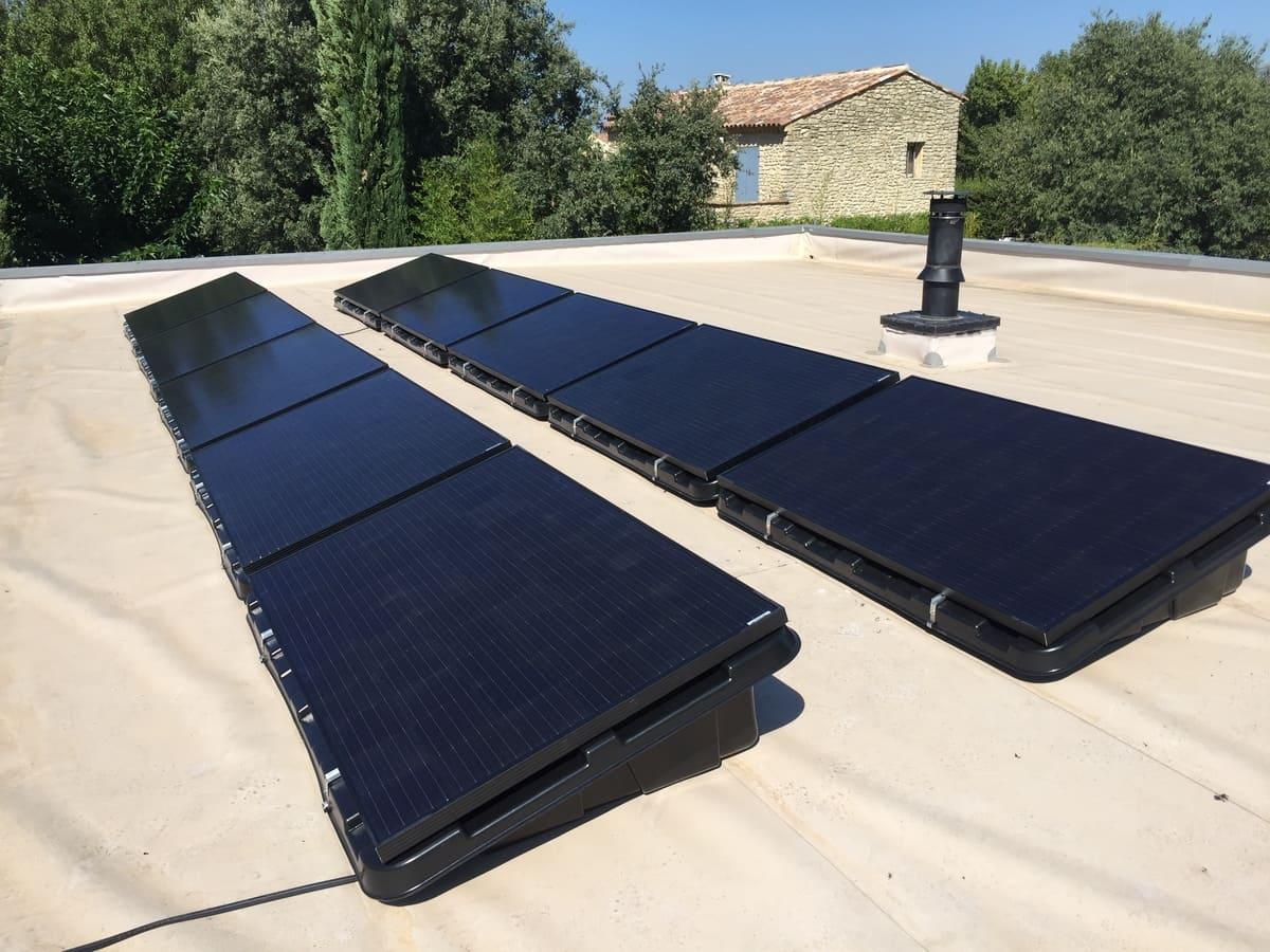 Panneau solaire sol Activ'Environnement