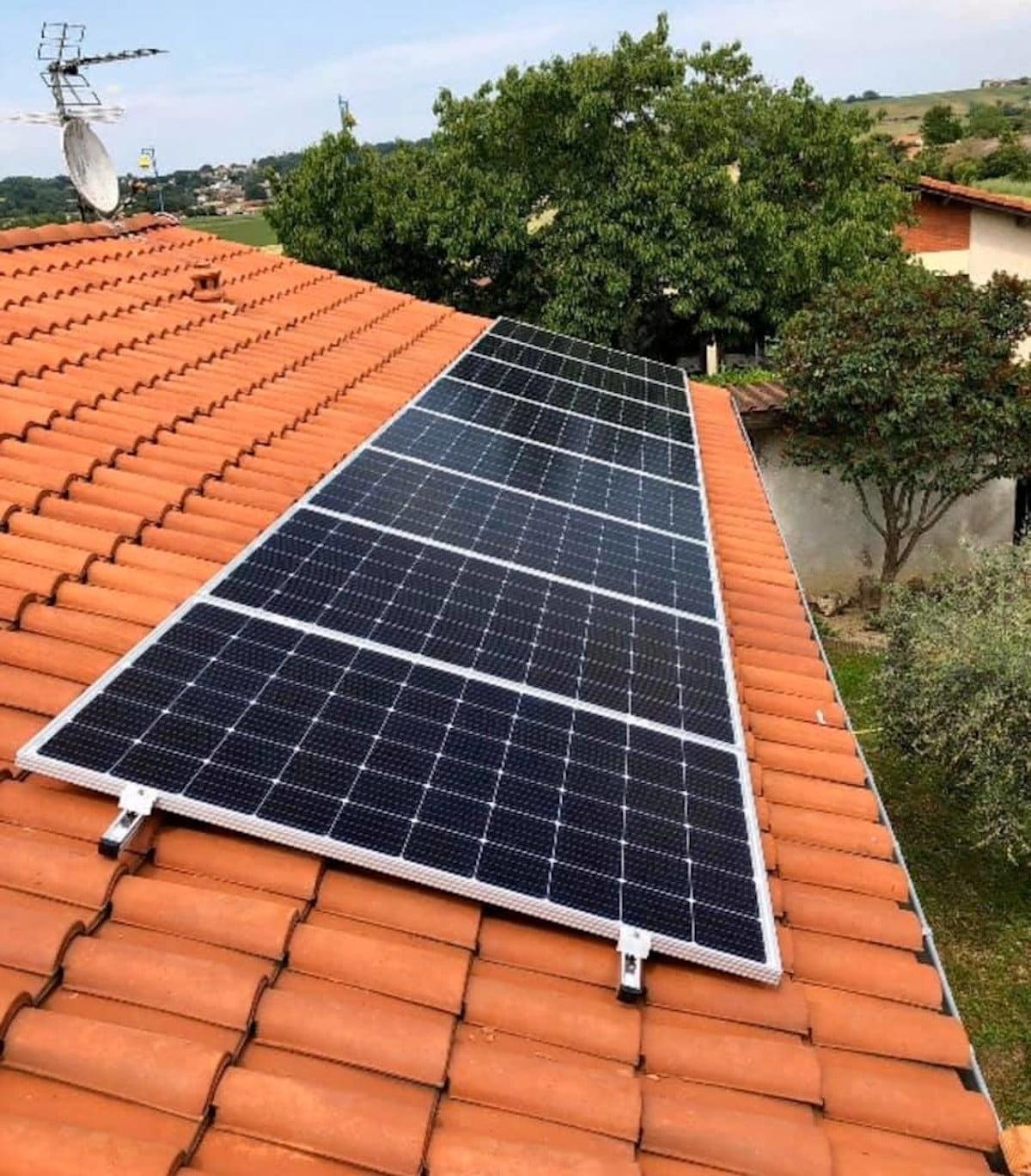 Panneau solaire verteck 3e