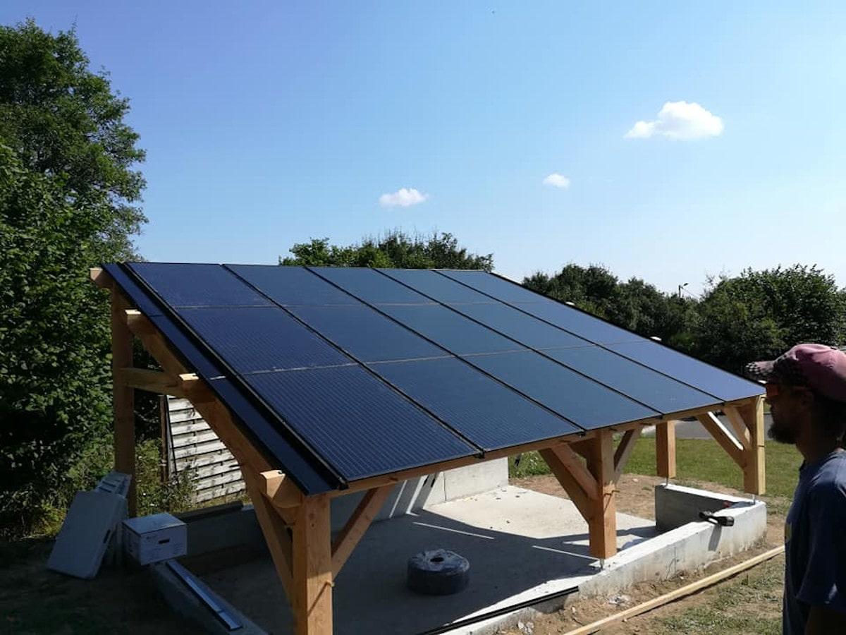 Panneau solaire tfb solaire