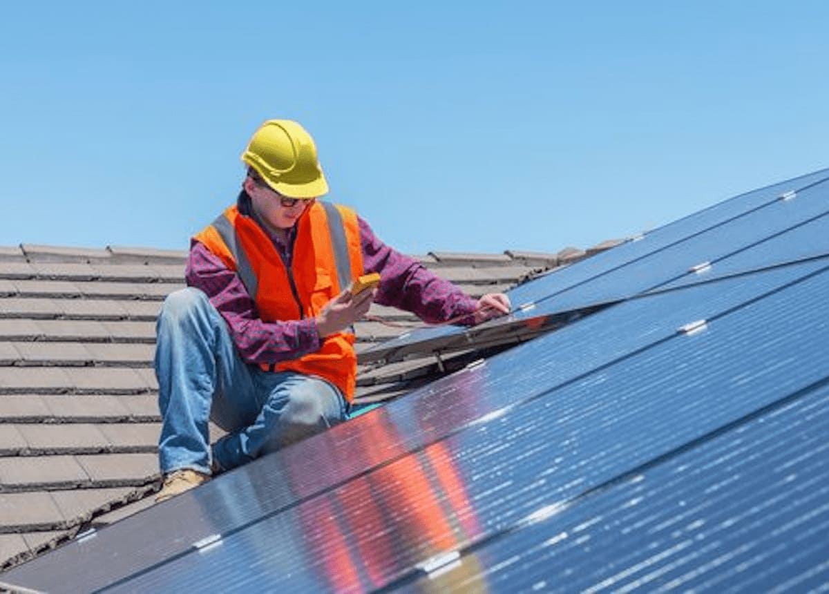 Panneau solaire Home Expert Habitat