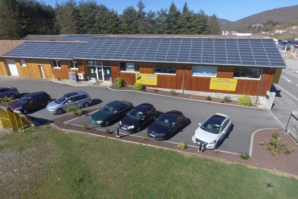 installation panneaux solaires société bm