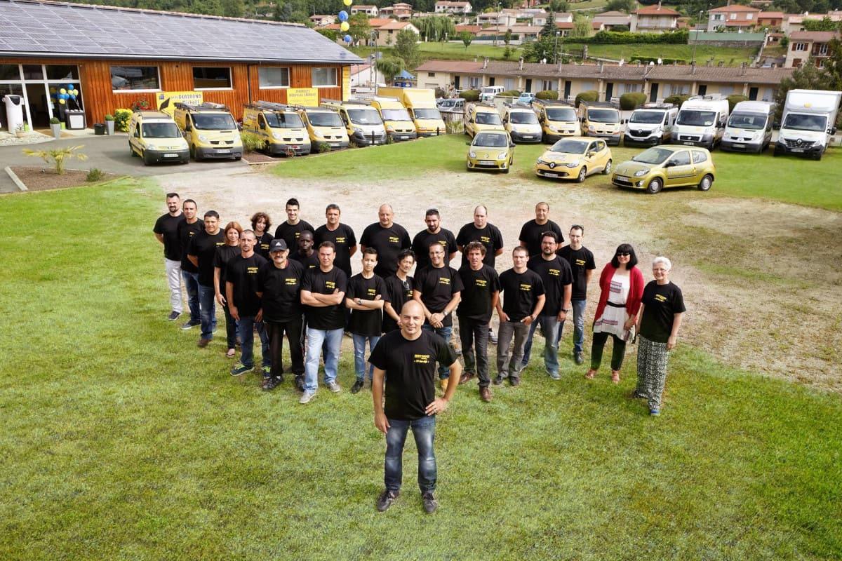 L'équipe Société BM