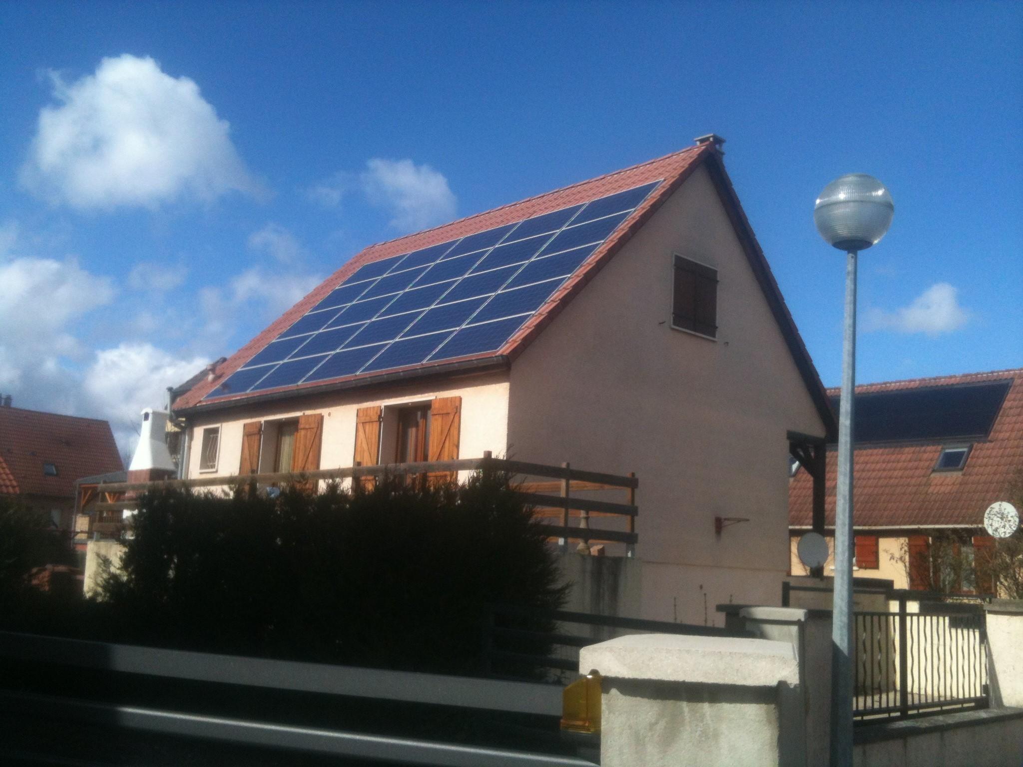 Panneaux solaire Pascal Toussaint