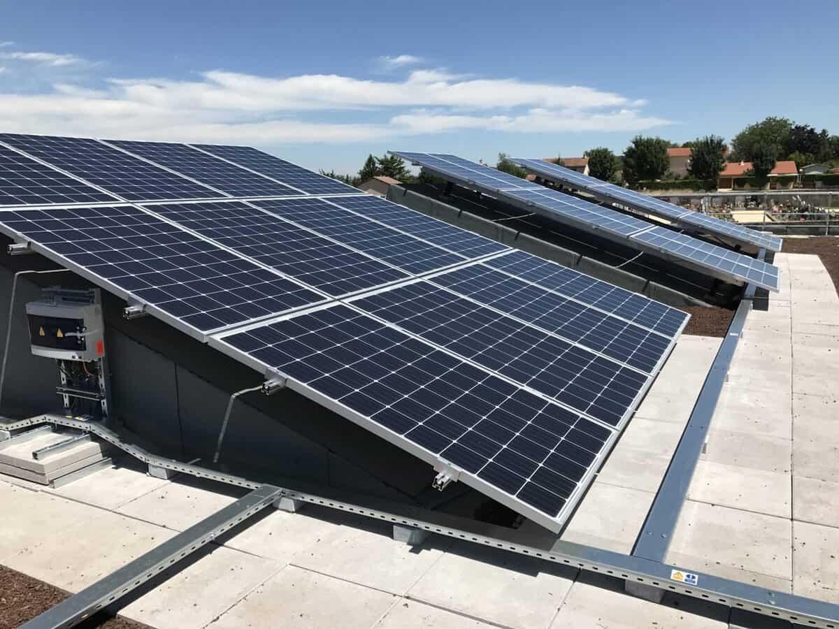 Panneaux solaires Sas Brival