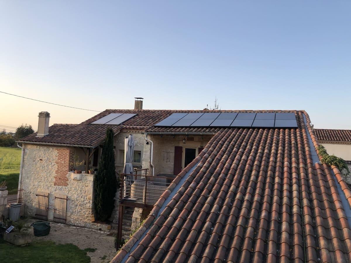 Panneaux solaires Martin Fils