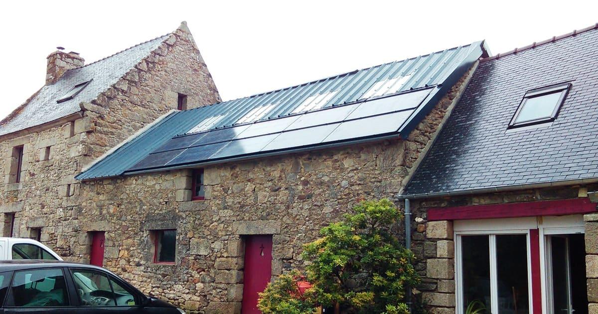 Installation photovoltaïque Quénéa