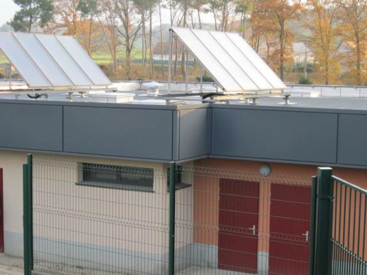 Pasteau installation de panneaux solaires