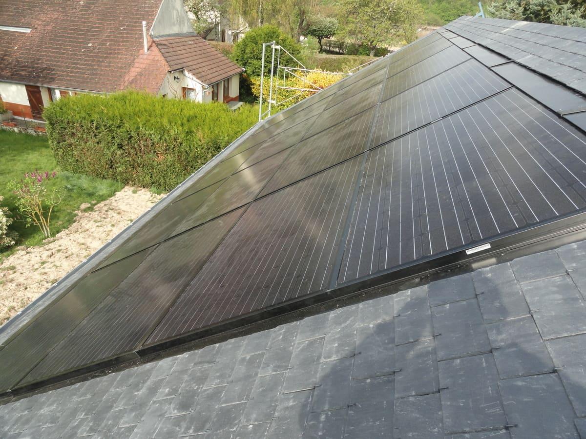 placier installation type solaire