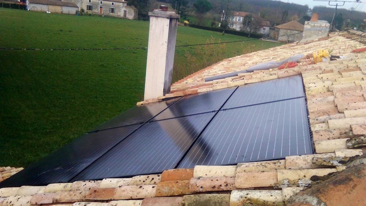 Pose module solaire Tuco Energie