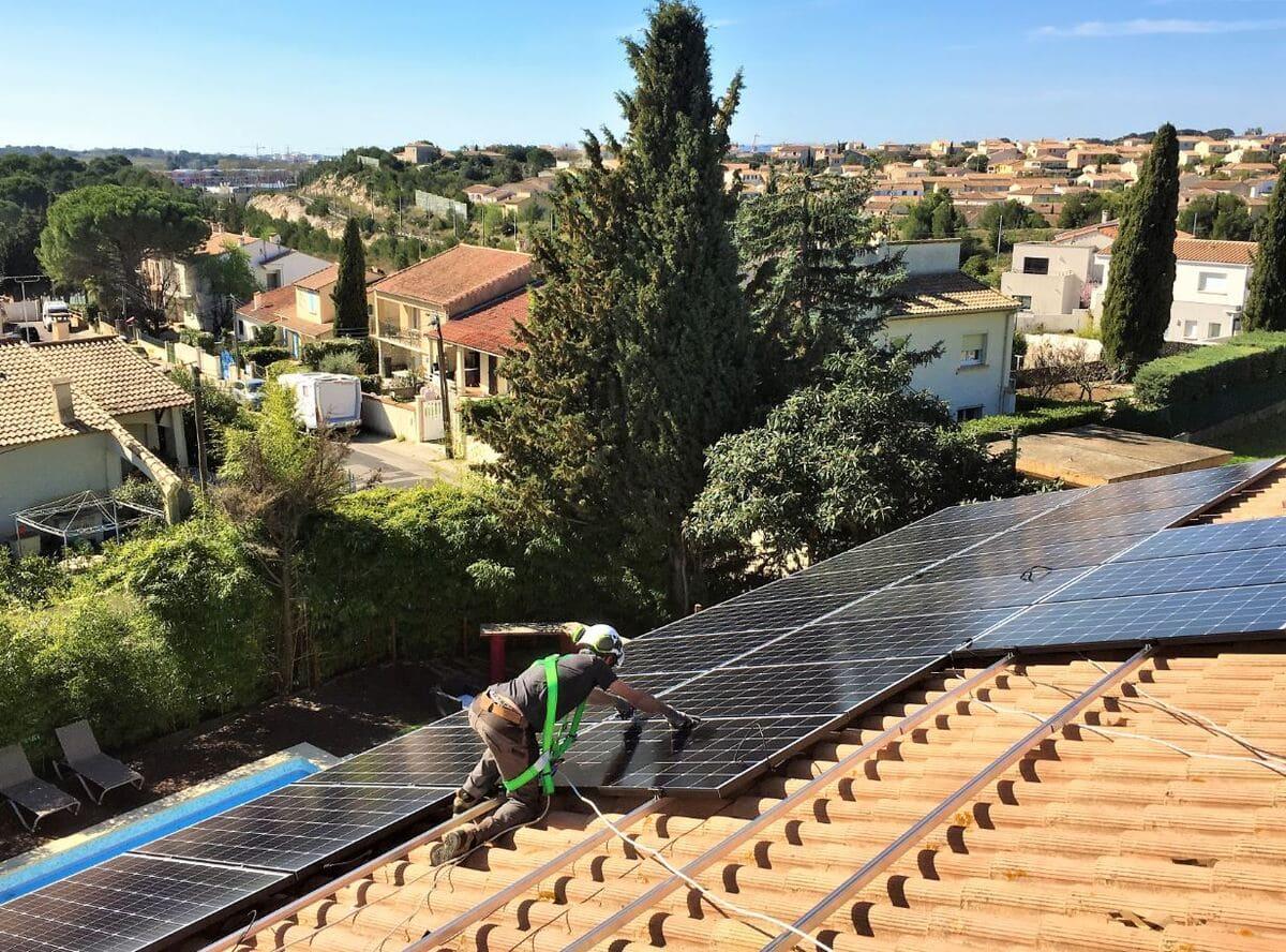 Pose panneaux solaires Optimwatt