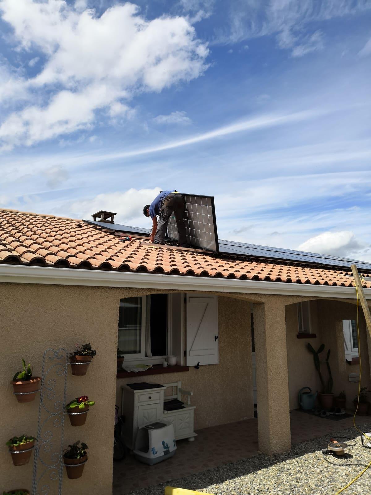 Travaux solaires ENERGIE B