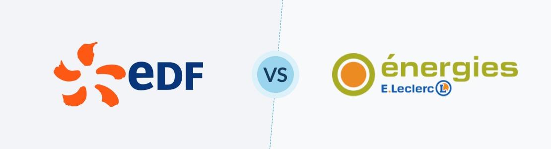 comparaison des fournisseurs edf et energies e leclerc avis prix