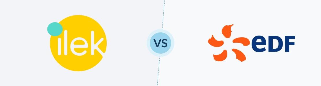 comparatif prix et avis entre ilek et edf