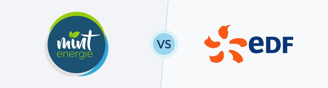 comparaison entre Mint Energie et EDF avis, prix et tarifs
