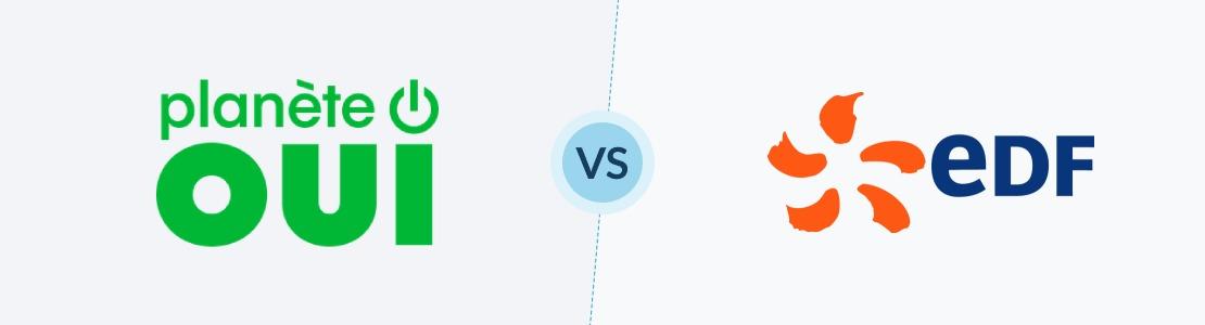 planète oui ou edf la comparaison des fournisseurs d'énergie