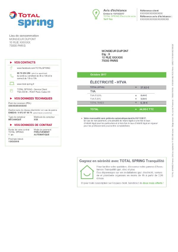 Total Electricité Avis : total spring lectricit et gaz avis et contact ~ Medecine-chirurgie-esthetiques.com Avis de Voitures