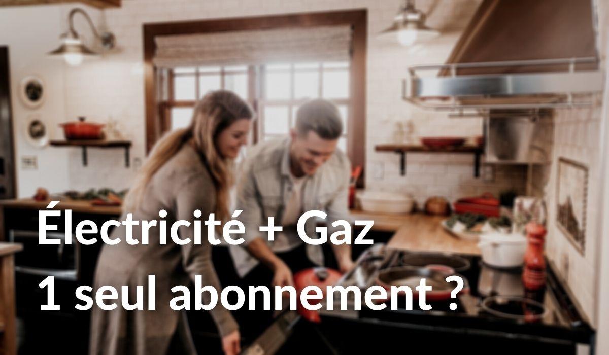 Abonnement énergie électricité gaz comment choisir un seul contrat