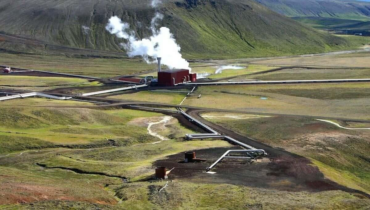 centrale geothermique