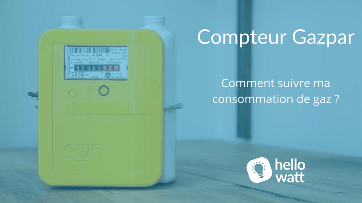 consommation gaz gazpar