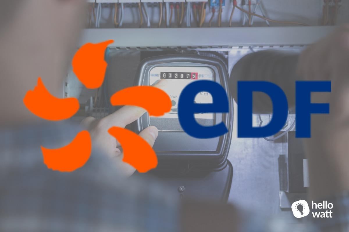 Ouverture d'un compteur électrique EDF