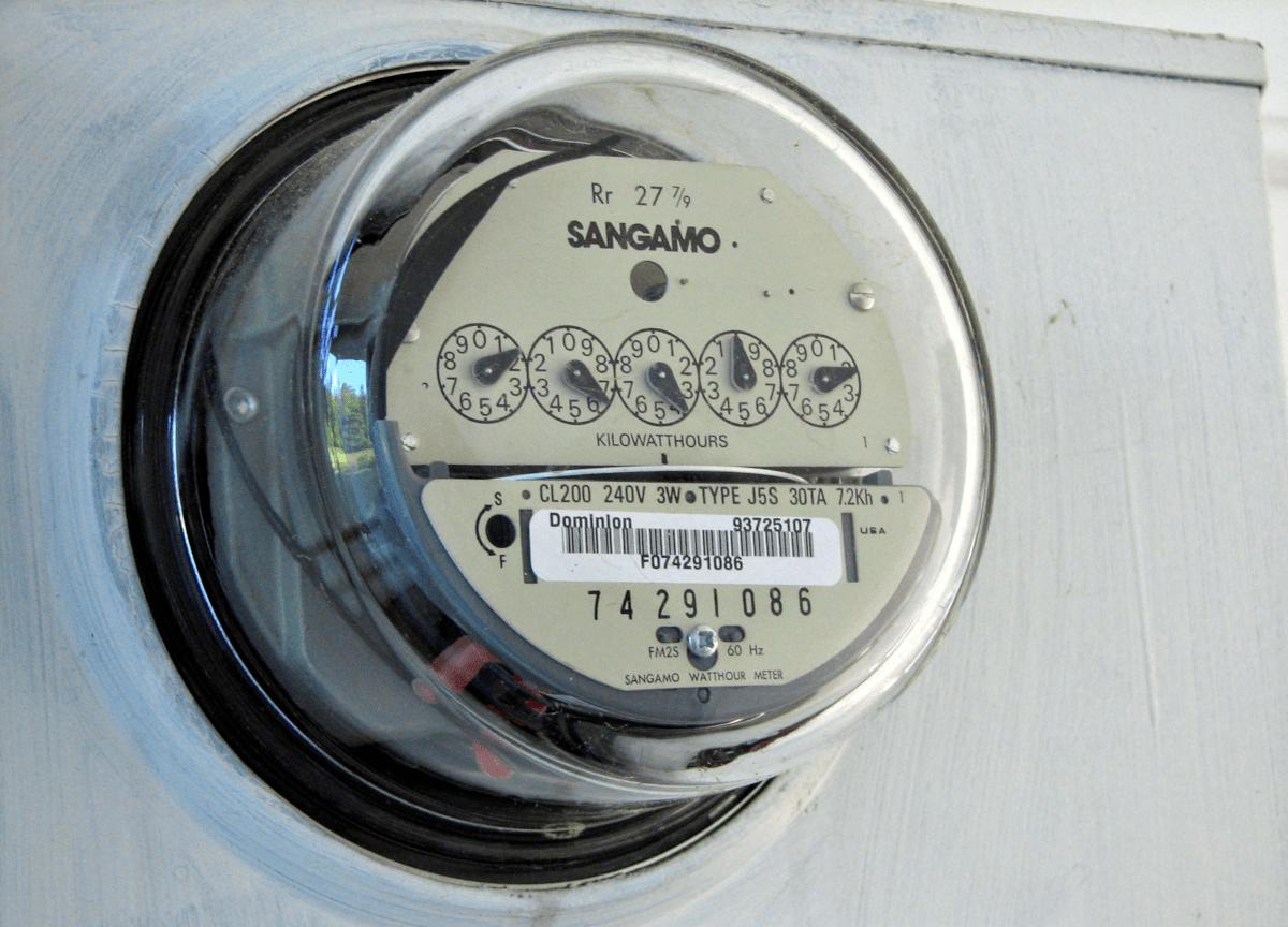 L'ouverture d'un compteur de gaz