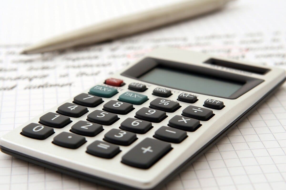 facture calcul calculatrice payer argent