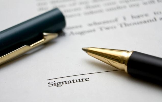Signature résiliation contrat Plüm Energie