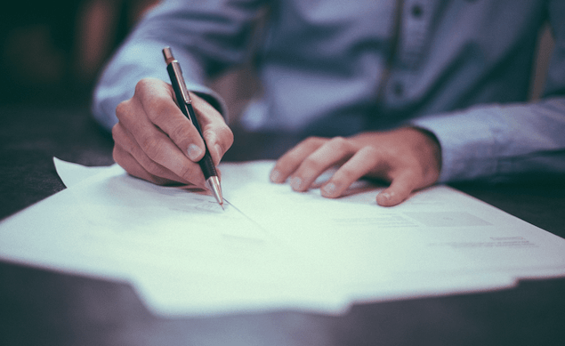 Signature résiliation contrat Butagaz