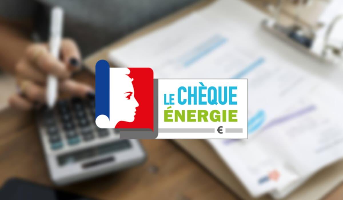Envoi chèque énergie