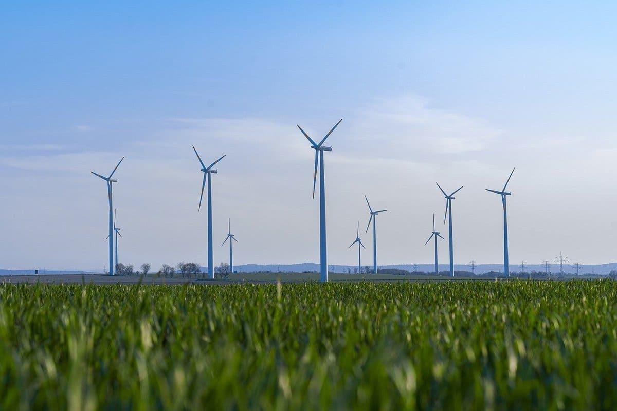 Éolienne transition énergétique