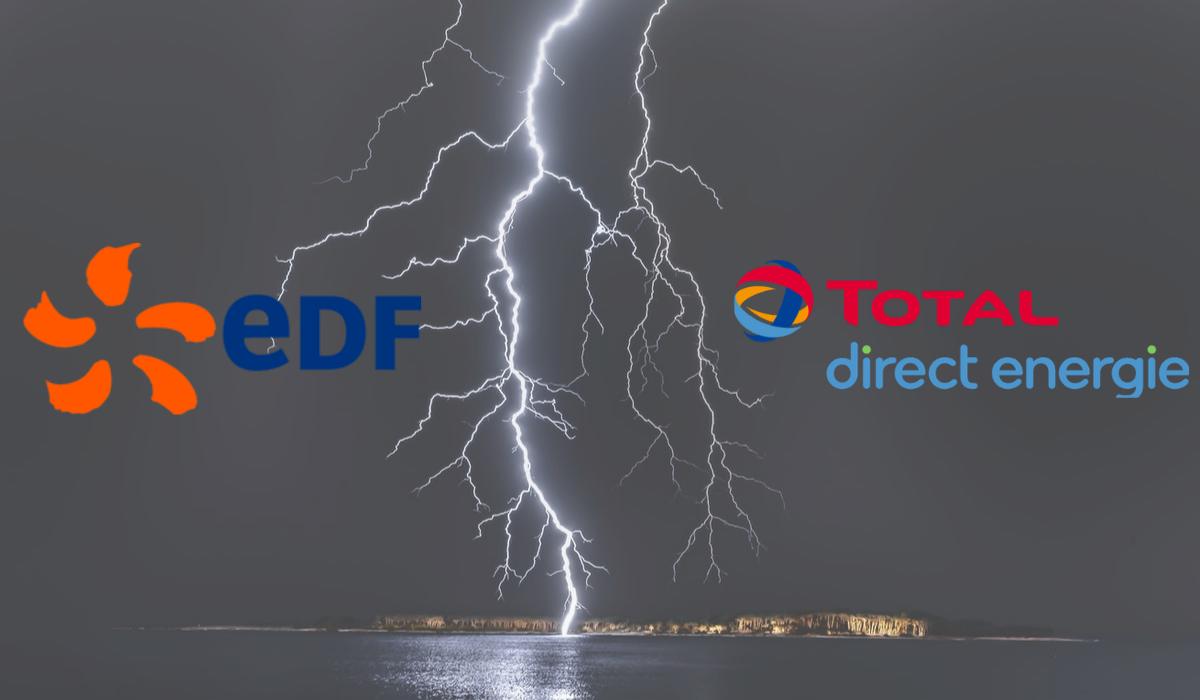 total direct energie attaque EDF en justice