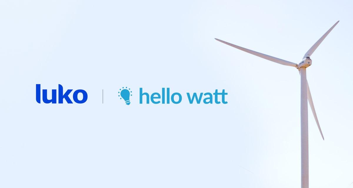 Luko et Hello Watt, le partenariat qui assure