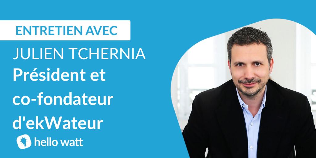 Julien tchernia cofondateur et president d'ekwateur