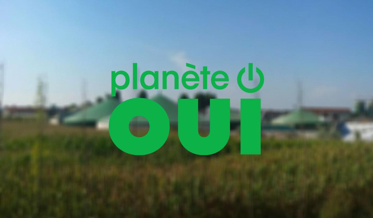 Lancement offre BIOgaz Planète OUI