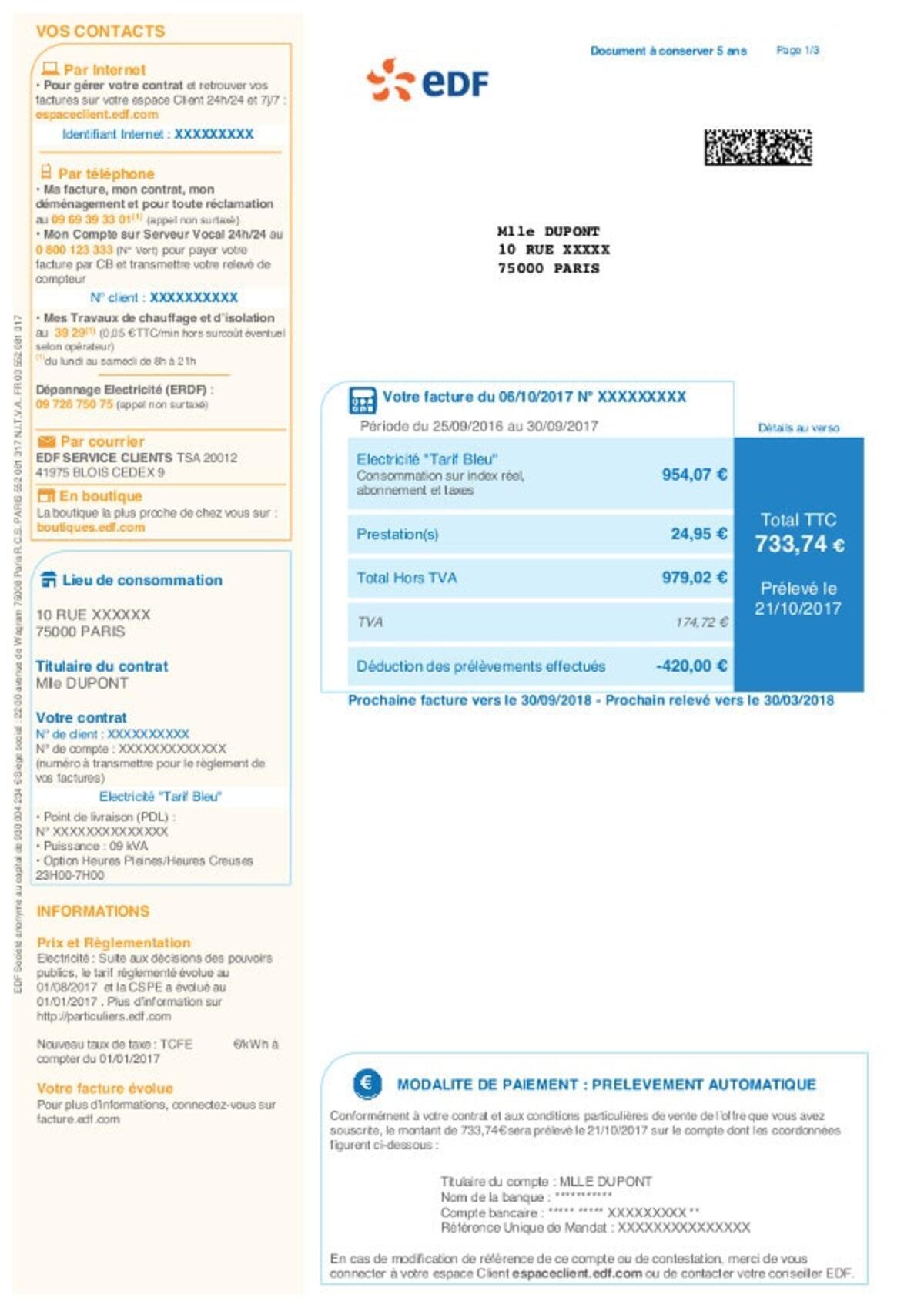 Toutes les infos sur EDF : prix, avis, offres